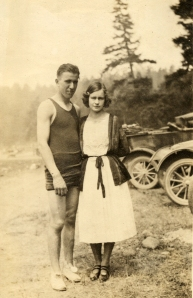 Hester and her husband, Robert, somewhere around 1927