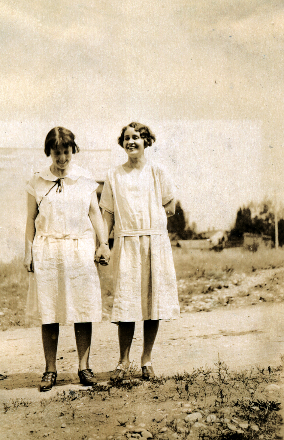 June and Hester -- ca 1925